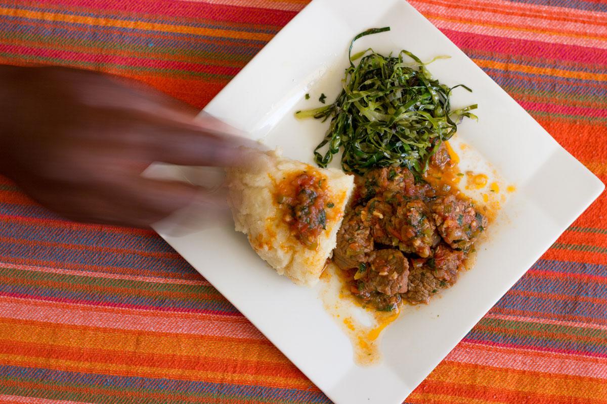 Ugali-Stew