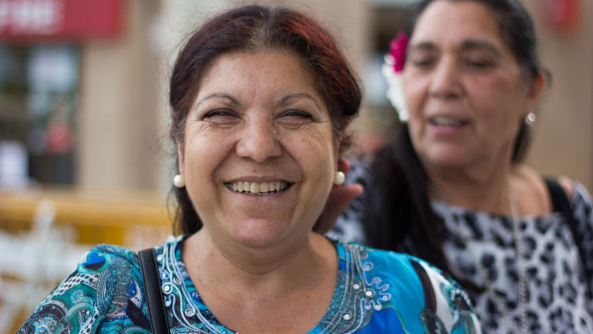 Mujeres de San Lorenzo